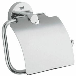 Grohe Essentials WC-papír tartó fedéllel króm 40367000