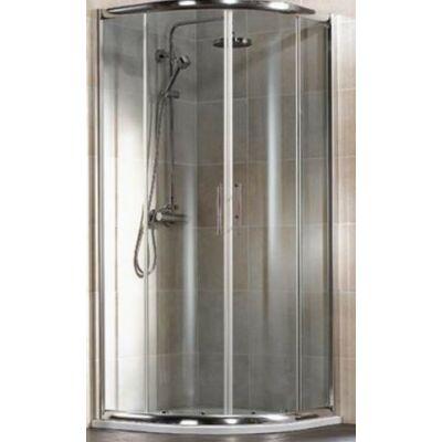 Hsk Imperial Negyedköríves Zuhanykabin Tolóajtókkal 100x100x185mm Króm