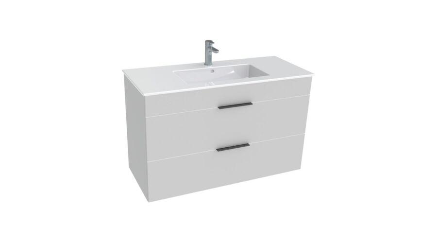 Fürdőszoba bútor > Jika Cube Alsószekrény mosdóval 100 2 fiókkal ...