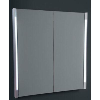 Vanita Zenit 70x90 tükrös szekrény függőleges LED világítással, biztonsági fóliával, soft close