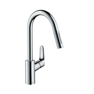 Hansgrohe Focus Egykaros Konyhai Csaptelep Kihúzható zuhanyfejjel 31815000