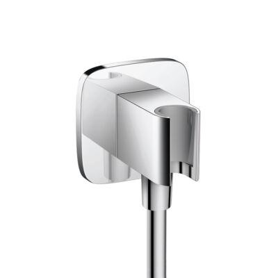 Hansgrohe Fixfit Porter E csatlakozó zuhanytartóval, Króm 26485000