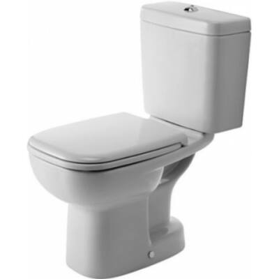 Duravit D-Code Álló WC kombináció mélyöblítésű alsó kifolyás ráültetett öblítőtartálynak kialakítva 21110100002