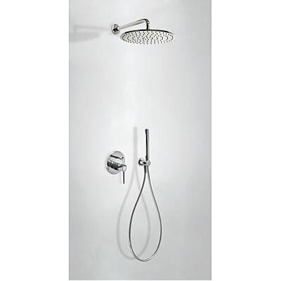 Tres Study Exclusive Falsík alatti zuhany rendszer színkészlettel Króm 262.980.91