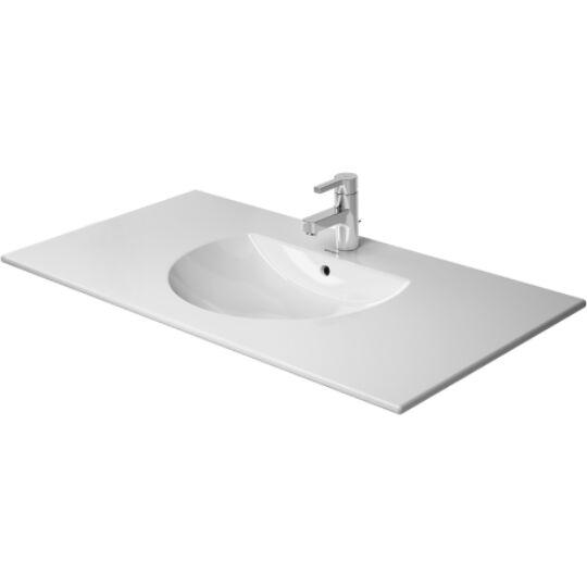 Duravit Darling New Bútorral aláépíthető mosdó 103x54,5cm túlfolyóval csaplyukkal 0499100000