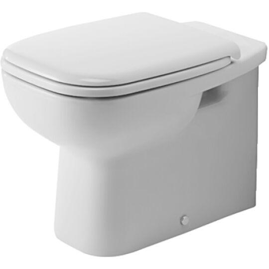 Duravit D-Code Álló WC fal előtt álló mélyöblítésű hátsó kifolyás 21150900002