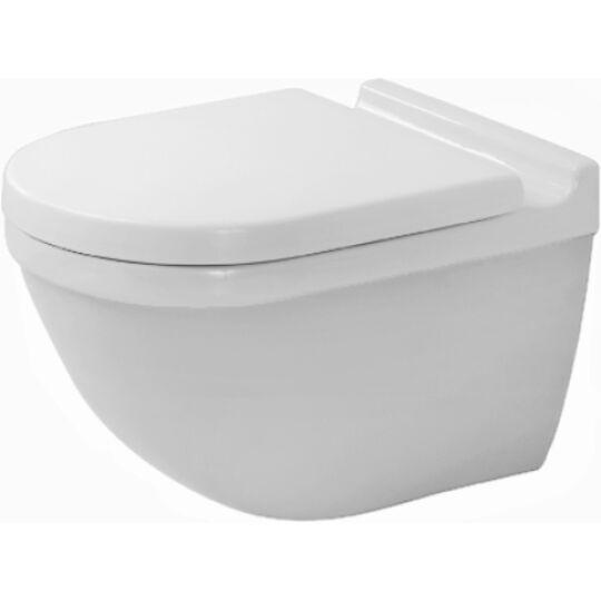 Duravit Starck 3 Fali WC mélyöblítésű Durafix rögzítéssel 2225090000