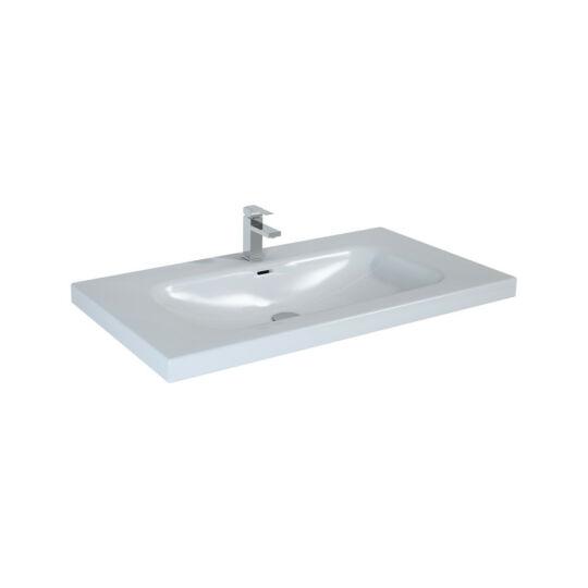Elita Iwa mosdó, csaptelep nélkül, fényes fehér, 95x50,5cm, 145300