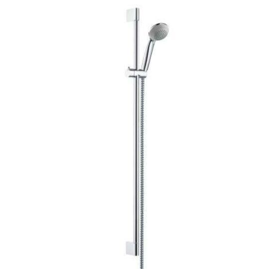 Hansgrohe zuhanyszett, Crometta 85 kézizuhannyal, 65cm-es Unica C zuhanyrúddal, 1,6m-es Metaflex zuhanycsővel, 27763000