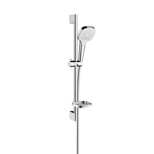 Hansgrohe Croma Select E Vario zuhanyszett 0,65m króm fehér 26586400