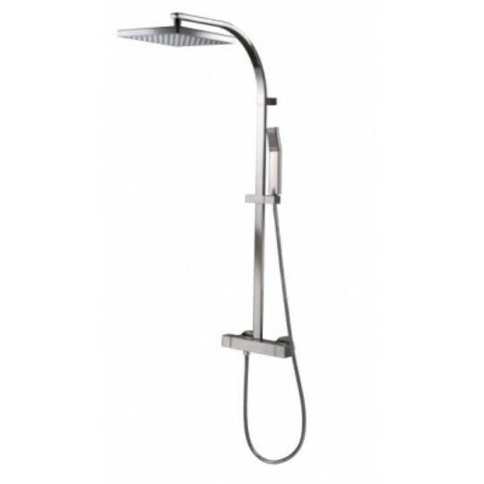 HSK Varia Square 2 termosztátos zuhanyrendszer, króm, V1009635