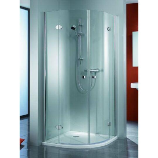 HSK Premium Classic 4-részes negyedköríves zuhanykabin 80x80cm króm
