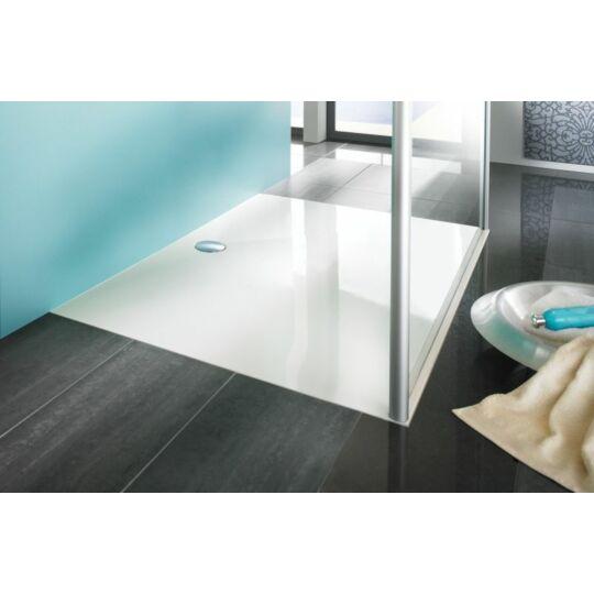 Hüppe EasyStep négyszögeletes zuhanytálca 90x90cm fehér