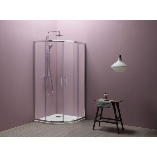 Kolpa-San Eco Quat TKP 90 zuhanykabin, 90x90x185cm, 538580