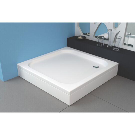 Kolpa-San Trin beépíthető akril zuhanytálca, előlap és szifon nélkül, 754810