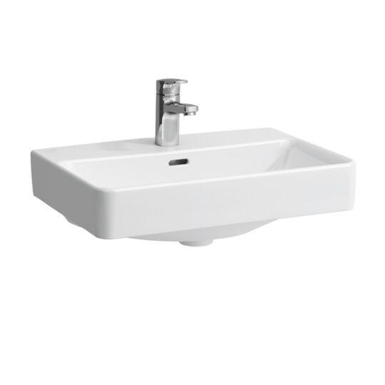 Laufen Pro A Ráépíthető mosdó Compact 60x38cm 1 csaplyukkal középen 8.1795.9.000.104.1