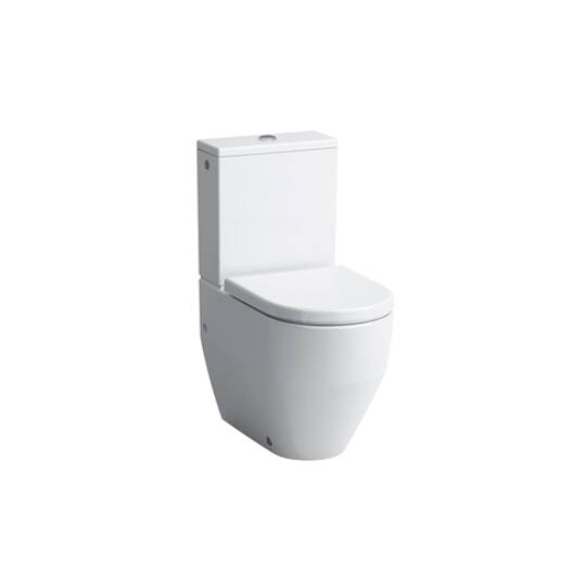 Laufen Pro New Kombi, mélyöblítésű WC, Vario lefolyóval, 2 oldalsó lyukkal, tartály és ülőke nélkül, 8.2595.2.000.231.1