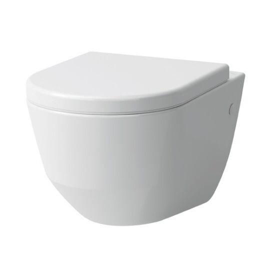 Laufen Pro Rimless fali WC mély öblítésű, rejtett rögzítéssel H8209660000001