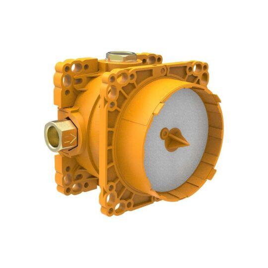 Laufen Simibox falba építhető alaptest szerelvény, kád és zuhanyrendszerekhez, zárószelep nélkül, H3789800001011