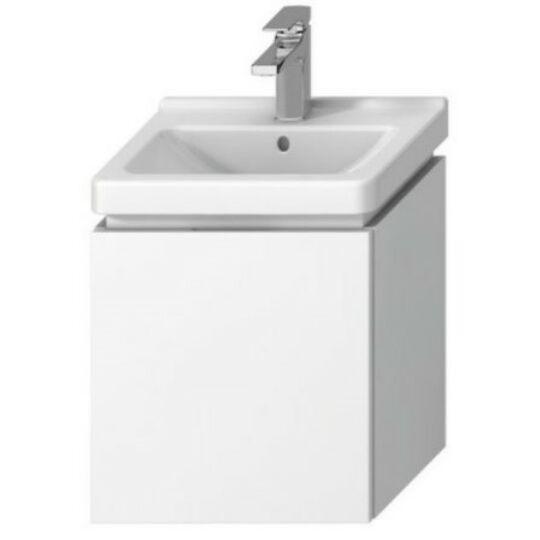 Jika Cubito Alsószekrény 45 Cm 1 45x34 Fiókkal Fehér Fényes Lakk a (8.1142.2 mosdóhoz)
