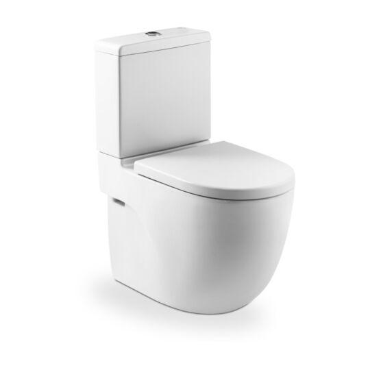 Roca Meridian kompakt monoblokkos WC, öblítőtartállyal, ülőke nélkül, A342248000+A341242000