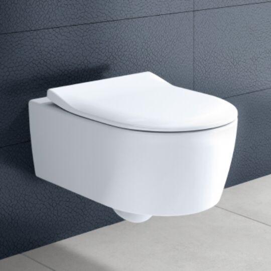 Villeroy & Boch Avento fali WC, ülőkével, 5656RS01