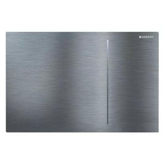 Geberit Sigma 70 nyomólap, szálcsiszolt rozsdamentes acél, easy-to-clean bevonattal, 115.620.FW.1