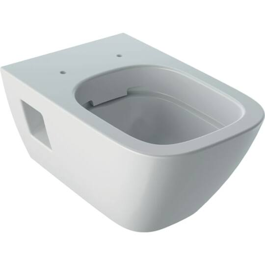 Geberit Selnova Square Rimfree fali WC, ülőke nélkül, 501.546.01.1