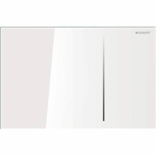 Geberit Sigma 70 nyomólap, fehér-üveg színben, 115.620.SI.1
