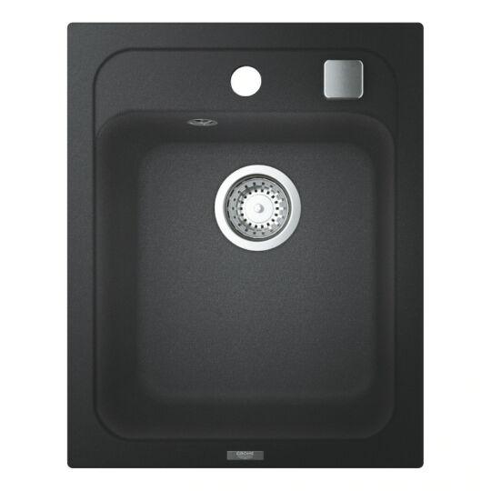 Grohe K700 műgránit mosogatótálca, 1 medencés, 40x50cm, antracit színben, 31650AP0