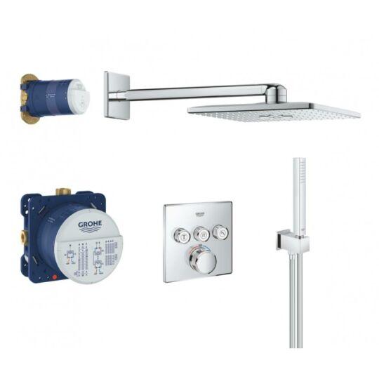 Grohe Grotherm SmartControl falsík alatti termosztátos zuhanyrendszer, króm, 34706000