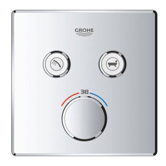 Grohe Grotherm SmartControl termosztát, 2 utas színkészlet