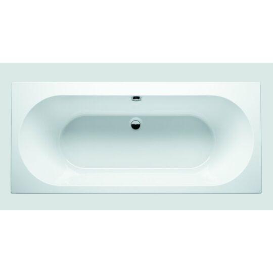 Riho Carolina egyenes akril fürdőkád, kádláb, le-és túlfolyó nélkül, 170x80cm, BB5300500000000