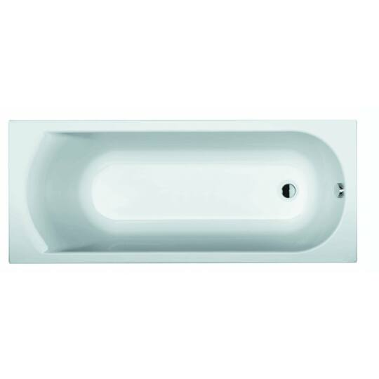 Riho Miami egyenes fürdőkád, kádláb, le- és túlfolyó nélkül, 170x70cm, BB6200500000000