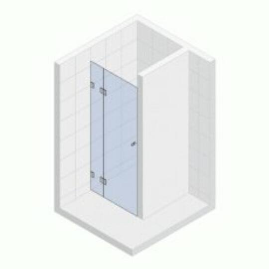 Riho Scandic Lift Mistral Zuhanykabin ajtó M104-90cm balos