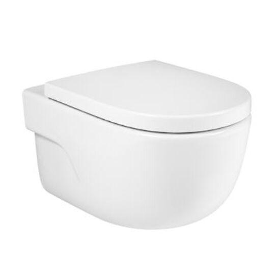 Roca Meridian Rimless fali WC, ülőke nélkül, A34624L000