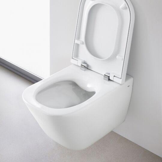 Roca The Gap Rimless kompakt fali WC, ülőke nélkül, A34647L000