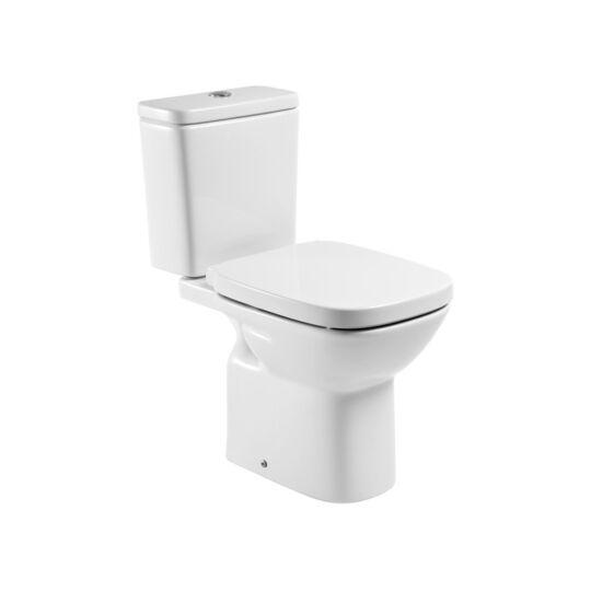 Roca Debba Monoblokkos alsó kifolyású WC, tartály és ülőke nélkül, A342998000