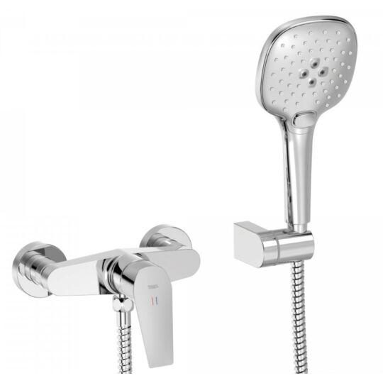 Tres Canigo zuhanycsaptelep, zuhanyszettel, króm, 21716701