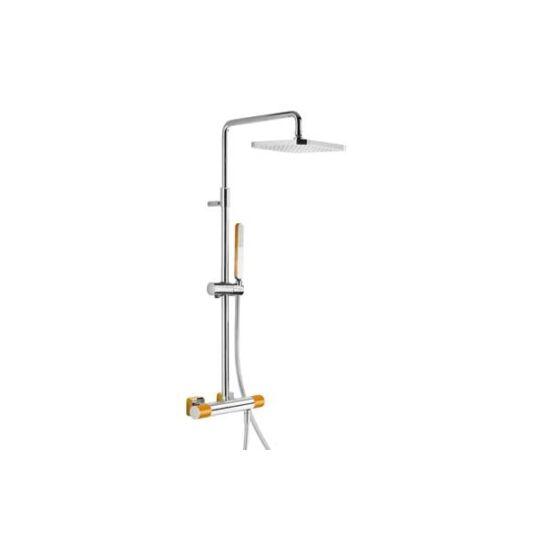 Tres Loft Termosztátos zuhanyrendszer Narancssárga 200.195.01.NA